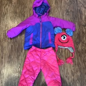 Girls winter clothes lot